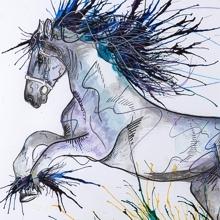 Living Art - Emily Donald paintings