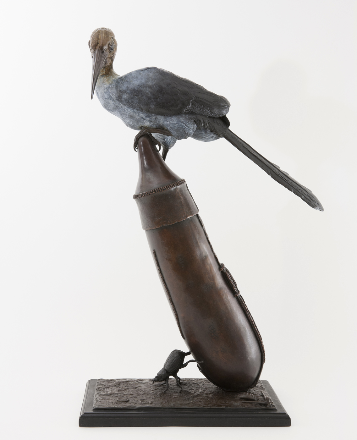 Living Art - Bryan Hanlon - Hornbill and Calabash