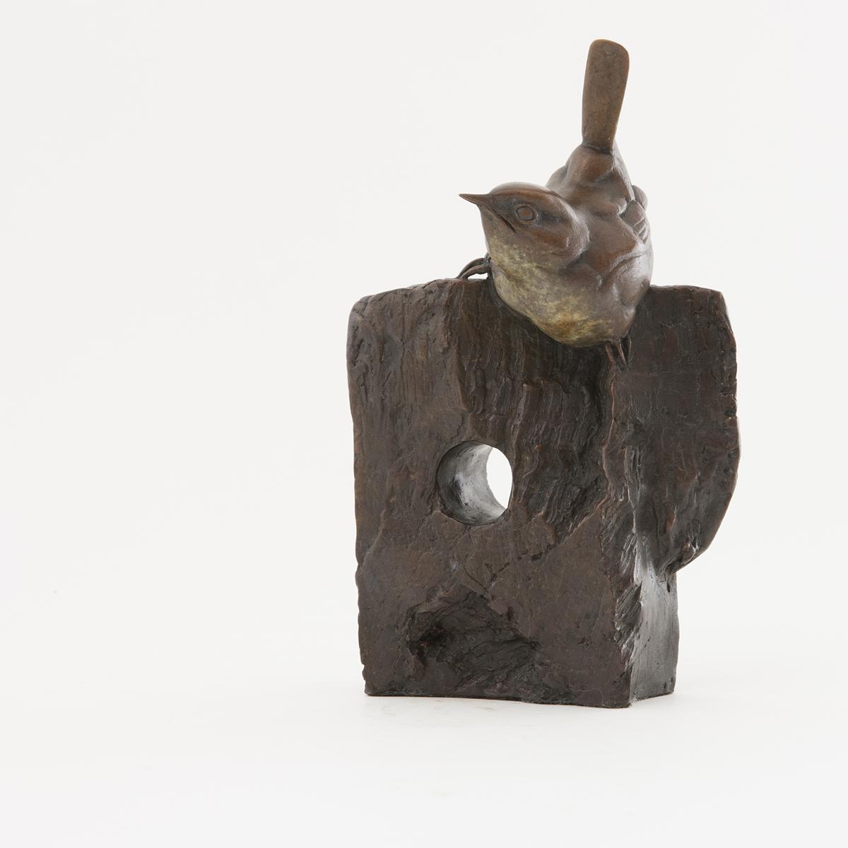 Living Art - Bryan Hanlon - Wren on Wood