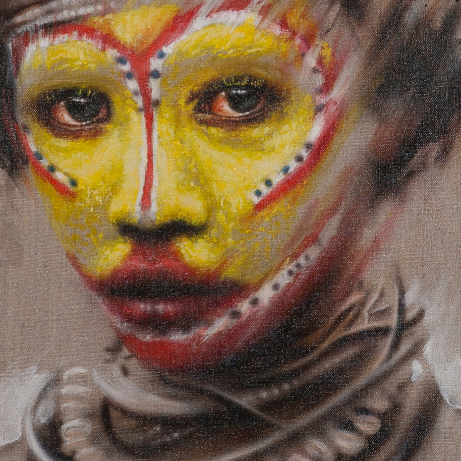Living Art - Dale Grimshaw - Study 1
