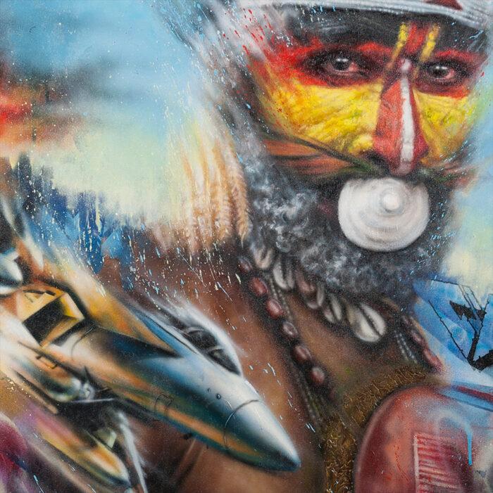 Living Art - Dale Grimshaw - Worlds Collide