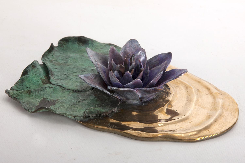 Living Art - Emma Harding - Water Lily