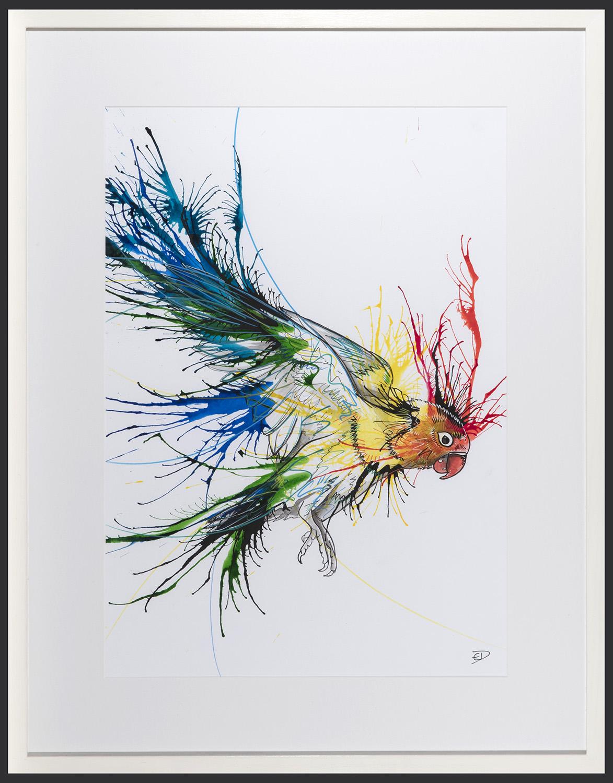 Living Art - Emily Donald - Love Bird