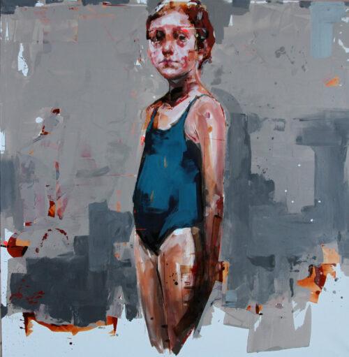 Living Art - Gabriela Bodin - Ritratto di Ragazza