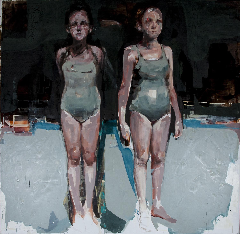 Living Art - Gabriela Bodin - Swimmers