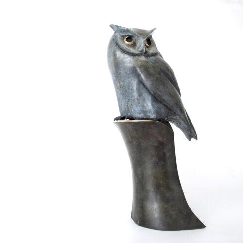 Living Art - Matt Duke - Scops Owl #6