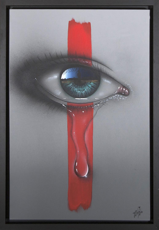 Living Art - My Dog Sighs - Painted Tears