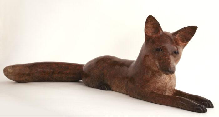 Living Art - Richard Smith - Lying Fox