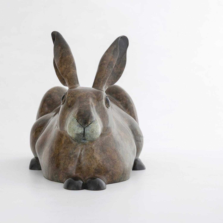 Living Art - Richard Smith - Resting Hare, taking it easy