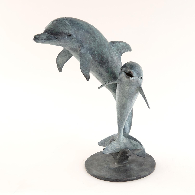Living Art - Vivian Mallock - Dolphins