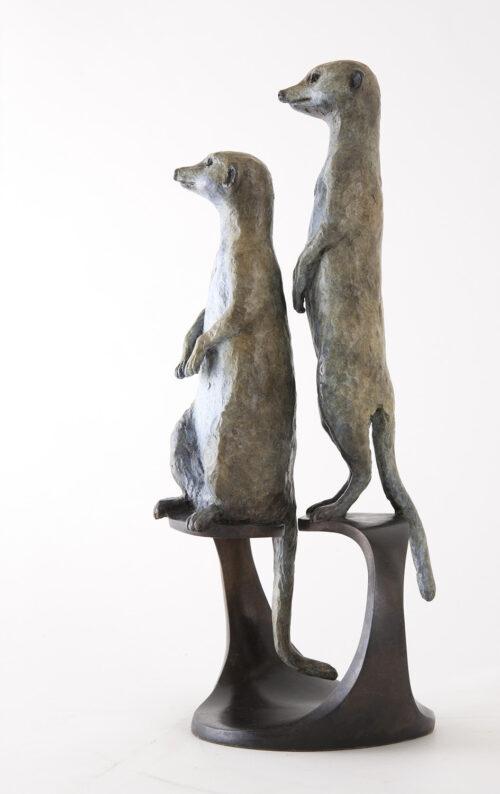 Living Art - Vivian Mallock - Meerkats