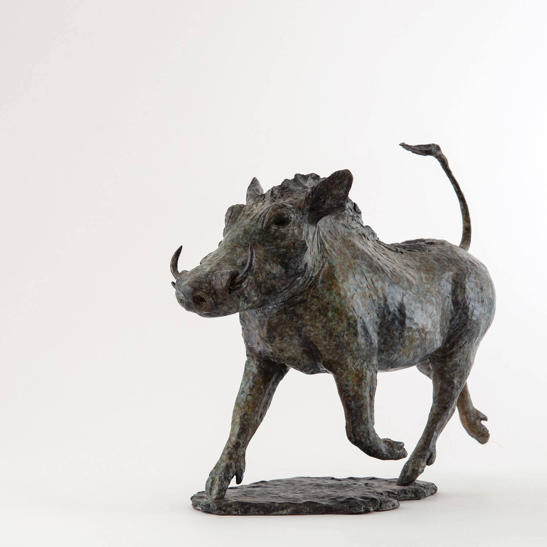 Living Art - Vivian Mallock - Warthog