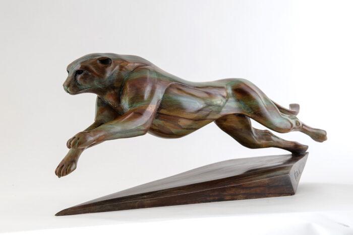 Living Art - Matt Duke - Cheetah the chase - large