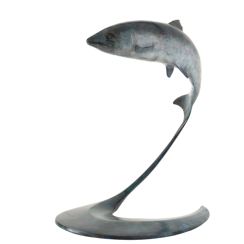 Living Art - MAtt Duke - The Leap - Salmon