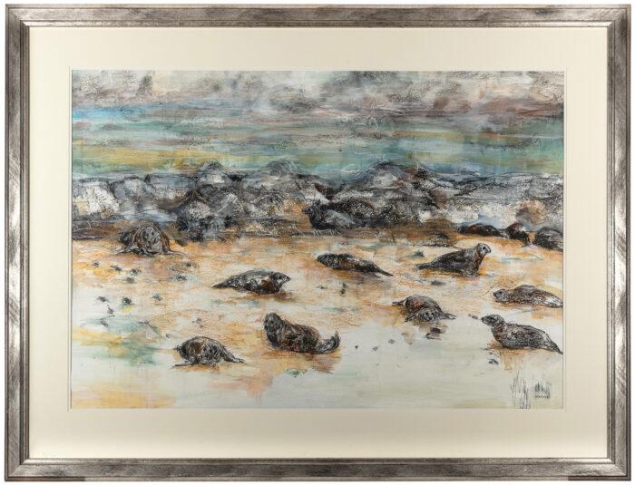 Living Art - Coastline by Sally Newton